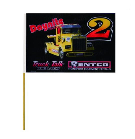 Hot Selling All Size of Polyester Fabric Hand Flag