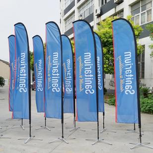 Open flags for businesses