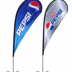 Wholesale water drop business flags factory