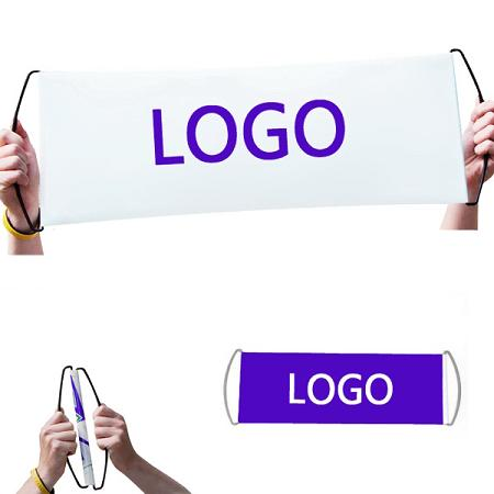 Customized sports scroll rolling banner whith you logo