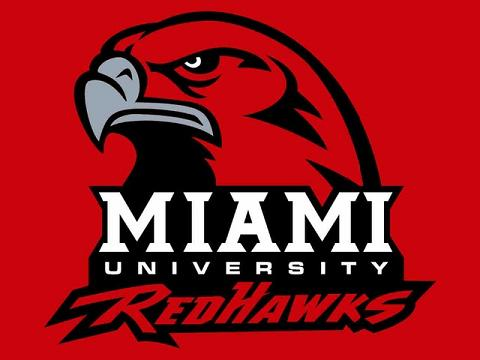 Miami Redhawks 3X5ft NCAA Basketball Club Polyester Sport Banners