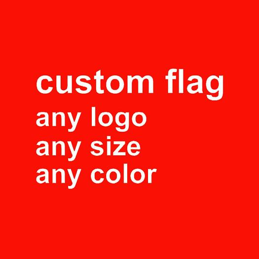 Custom Polyester Flags Any Logo Size Color
