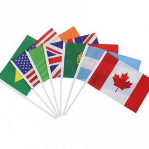 Custom Printed Flags Hand Flags of The World